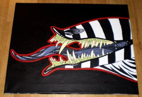 ZEEK Acrylic Painting by ExcessiveExpression