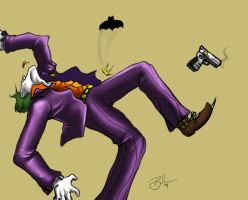Commish: Joker by Devain