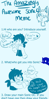 ::Amazingly Awesome Sonic Meme:: - Angie by Siinnack
