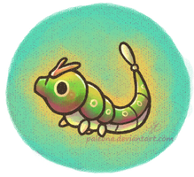 Caterpie 010 by Paleona