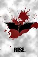 The Dark Knight Rises Minimalist Poster by ReverseNegative