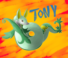 Request: Tony the Serperior by MasaBear