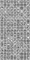 Free Grey Button Icons by aha-soft-icons