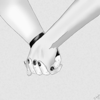 Just trying to draw hands... by Krakenka