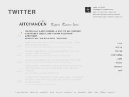 If i designed twitter.... by XxX-SXE-XxX