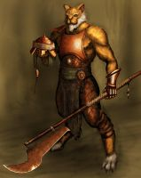 Werecat warrior by IgnusDei