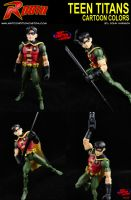 Custom Robin DC Universe Action Figure by MintConditionStudios