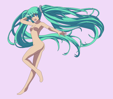 BASE 155 - So much hair, Miku by Rainfall-Bases