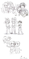 SSB4Sketches by SparxPunx