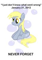 Derpy Hooves Print by BuckingAwesomeArt
