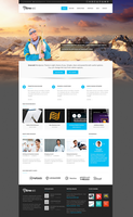 Emerald  Modern and Elegant theme for Corporate by freewordpressthemes