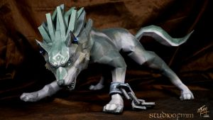 Wolf Link Papercraft (Tutorial) by studioofmm