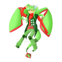 Red, Green and- Oh A Butterfly! by KitsPokePeople