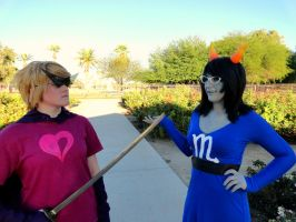 Do You Think You Think Your Threating? by AderuKittenCosplay