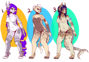 Adoptables Price lowered! (ONE LEFT) by Leodrolf