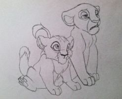 Mheetu and Nala by JesusSavedMe777