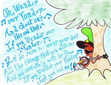If You Wander Over Yonder by RikkuGurl90