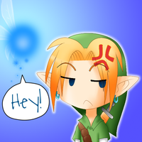 Link is not Amused by pretty-chibi7