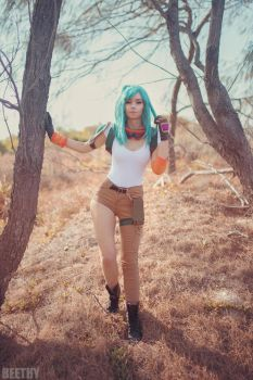 Motocross Bulma by beethy