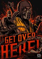 Scorpion: GET OVER HERE! by Bakerrrr