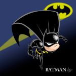 batman dark knight (chibi) by favius