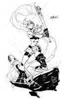 Tank Girl by alessandromicelli