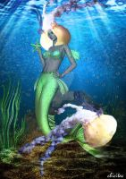 The Queen Of Jellyfish by Lolita-Artz