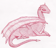Young Dragon by TheDraconian