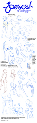 Poses 2 by Elixirmy