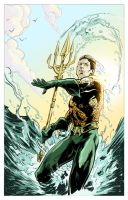 Aquaman Color by Weidel