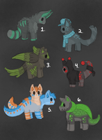 Cheap Point Adoptables closed by ForestGlade