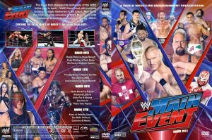 WWE Main Event March 2013 DVD Cover by Chirantha