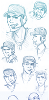 TF2: Sketches by DarkLitria