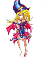 Dark Magician Girl by hawk-silex