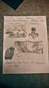 ww1 quick drawing for school by Rigby-ejy