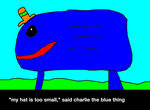 Charlie the Blue Thing by AwesomeCreep