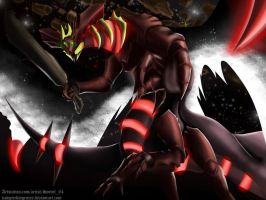 Oryx--The Banished King (Crossover-Fusion) by vampirekingroxis