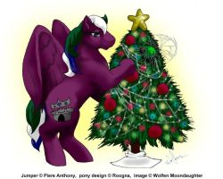 Roogna + Jumper: Merry X-Mas by WolfenM