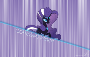 Nightmare Rarity title by centerdave77