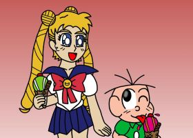 Usagi and Jimmy Five by LotDarkos