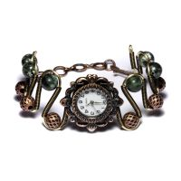 Seraphinite Watch Steampunk by CatherinetteRings