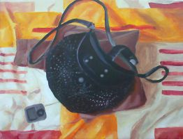 Still life with purse by ArtAnda