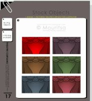 Object Pack - Theatre Curtains by MouritsaDA-Stock