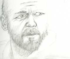 Russell Crowe by Scuter
