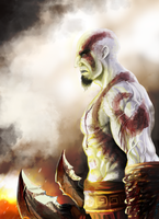 Kratos by ConceptCat