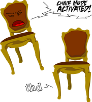 Mr. chair by IllidariEmissary