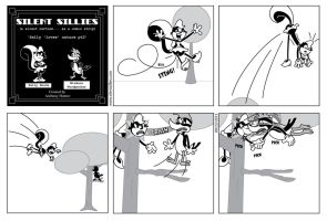 Silent Sillies 083 - Sally 'loves' nature pt2 by JK-Antwon