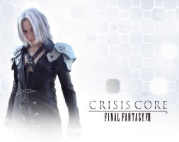 SEPHIROTH WALLPAPER COSPLAY by mmmhOmoshiroi