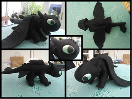 Finished Toothless Collage by Rach98