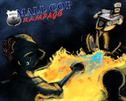 Mall Cop rampage by Demonyoshi